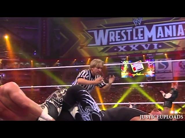 WWE Wrestlemania 26 Undertaker Vs Shawn Michaels 720p HD