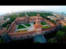 Aerial Showreel in Italy 15 Milano, Castello Sforzesco, Ischia, Castello Aragonese, Monza
