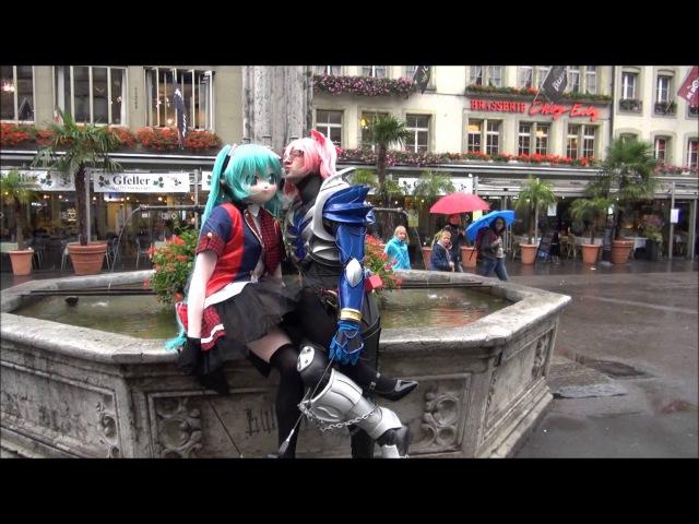 Dirty Otaku Thüringer Klöße Dancing - Featuring AKB48 Miku X Kamen Rider Kiva Madoka