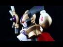 Bandai LBX Nightmare Review Unpainted Painted