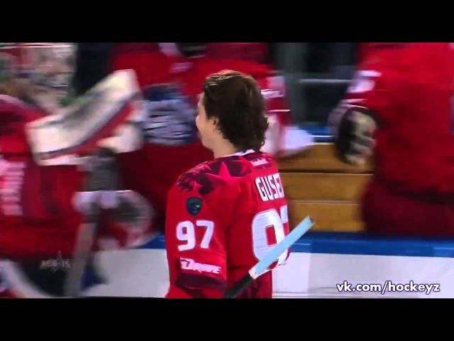 Матч Звезд 2015: Сумасшедший буллит Гусева /KHL All Star