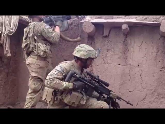 U.S. Army Firefight   M14 EBR Sniper   Heavy Machine Gun Fire