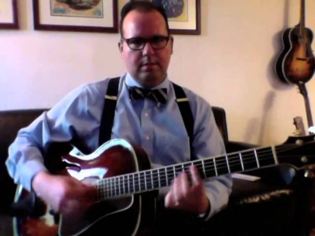 Lesson: Allan Reuss-Style Chord Melody Soloing