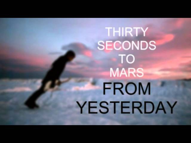 30 Seconds To Mars - From Yesterday (Official Clean Acapella)