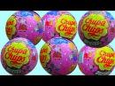 Свинка Пеппа Чупа Чупс шары с сюрприз открываем игрушки Peppa Pig Chupa Chups surprise balls toys