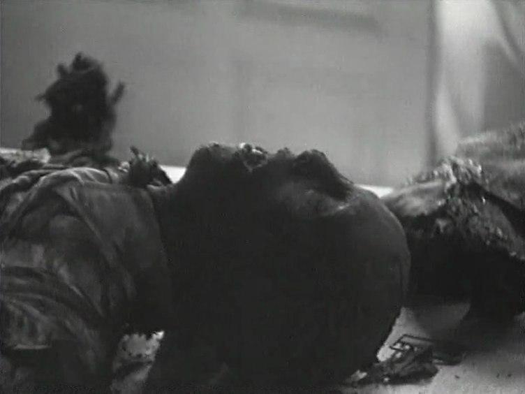 """Геббельс молчит. Фотография из документального фильма """"Берлин 1945"""""""