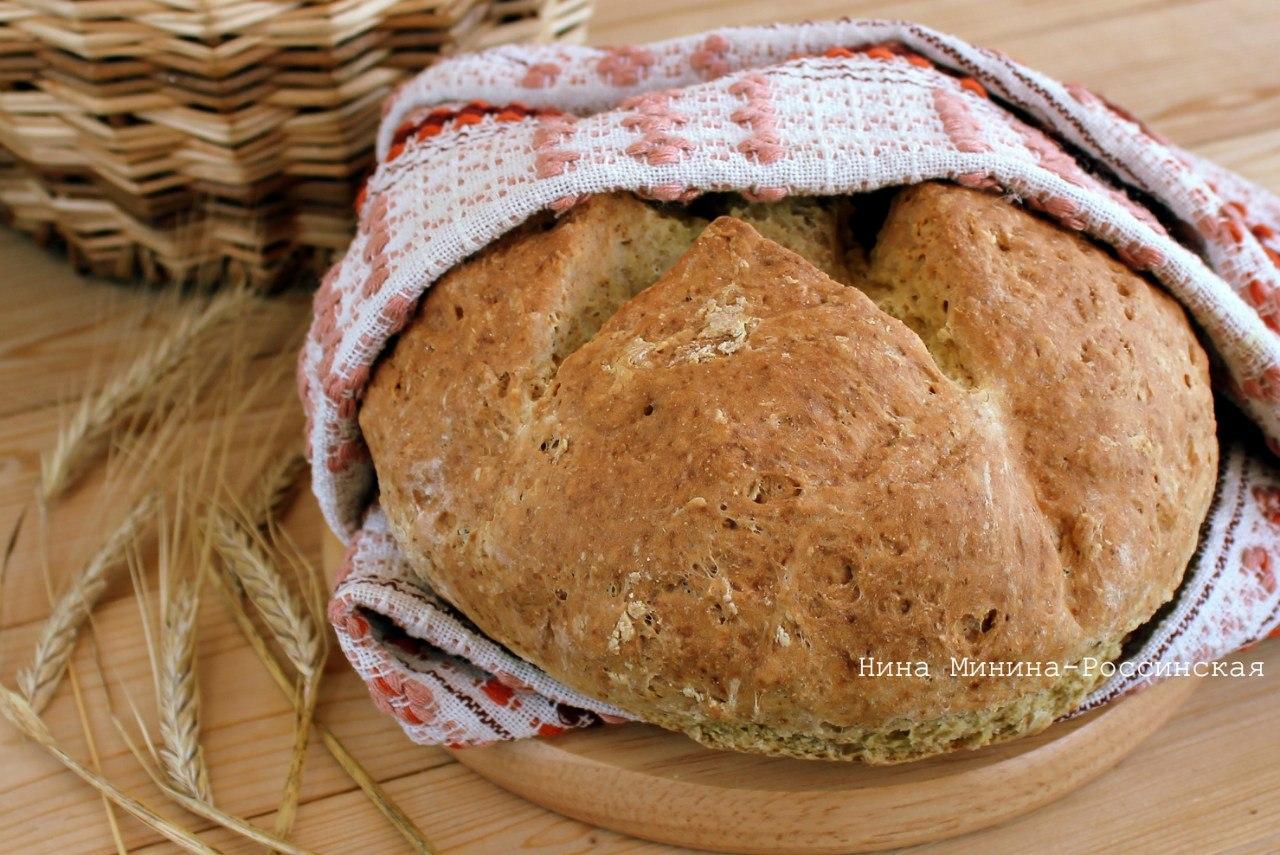Хлеб в домашних условиях на закваске в духовке рецепт с пошагово