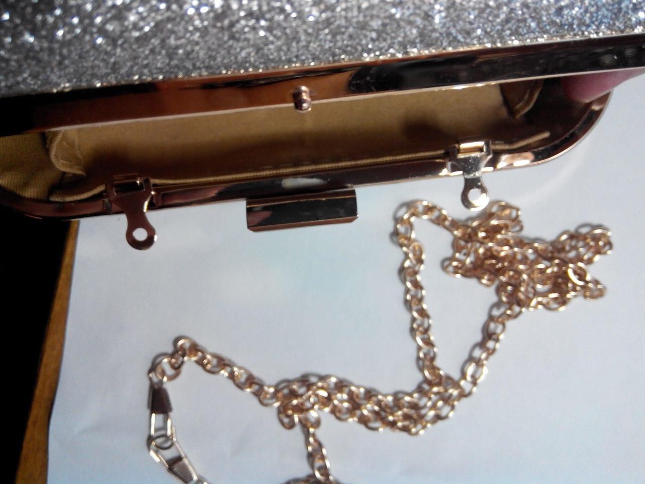 Aliexpress: Обзор блестящей ужасной сумочки