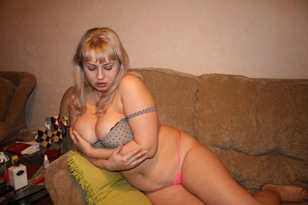 частное фото пухленких красивых женщин домашнее