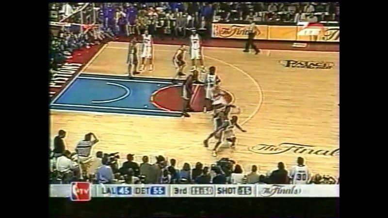 Detroit Pistons - Los Angeles Lakers 2004 Финал 5ая игра