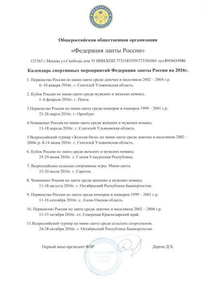 """КС """"Федерация лапты Пермского"""