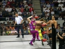 Eddie Guerrero Mr. JL vs Chris Benoit Dean Malenko, WCW Monday Nitro 23.10.1995