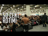50 Cent & Rotimi Perform Live at COS 2015