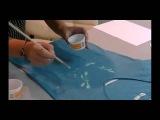 Роспись по ткани акриловыми красками