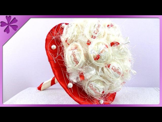 DIY Raffaello bouquet (ENG Subtitles) - Speed up 87