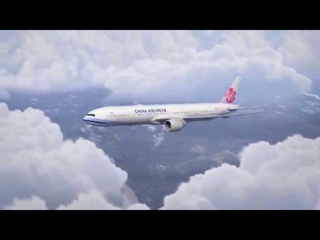 中華航空「全新B777-300ER」