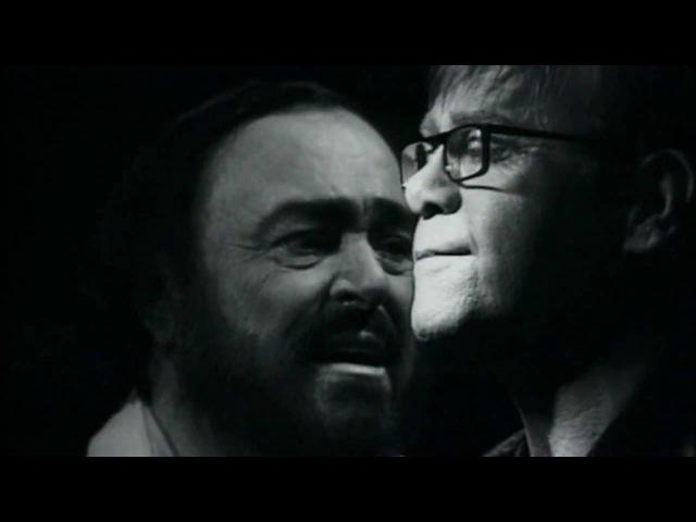 Elton John Luciano Pavarotti | Live Like Horses - Directed by Peter Demetris