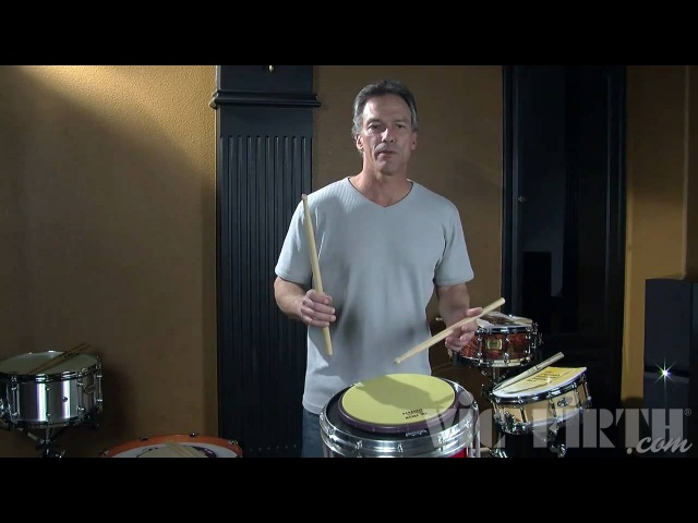 Vic Firth Rudiment Lessons Grip and Basic Strokes