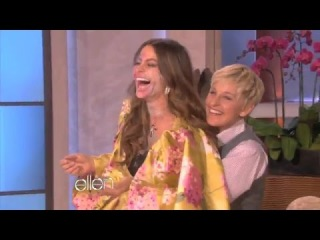 The best funny moment Ellen and Sofia Vergara Are CoverGirls On Ellen Show
