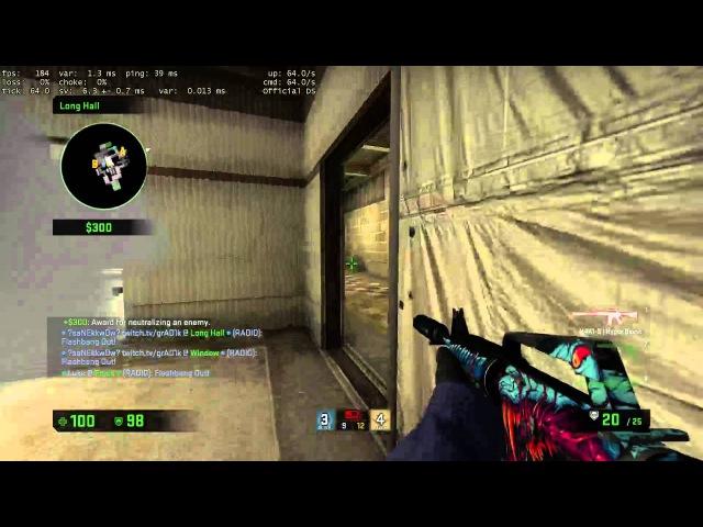 SaNEkk Ace 5 headshots on LEM defuse = fail of week xD