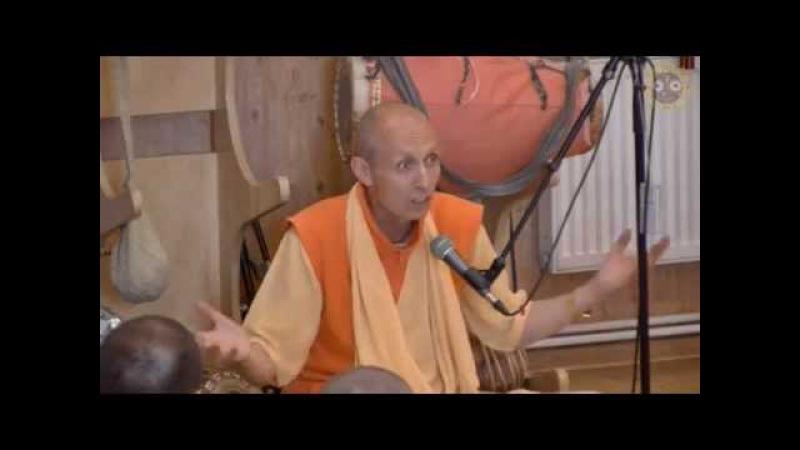 Е.С. Бхакти Ананта Кришна Госвами, Комментарий к лекции Шрилы Прабхупады, ШБ 1.8.30, 06.07.2015