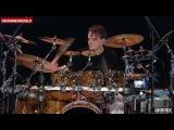 Drummer Gavin Harrison playing Futile