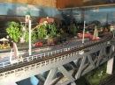 Макет железной дороги ЧС2 ВЛ10 ВЛ23 масштаб 1 87
