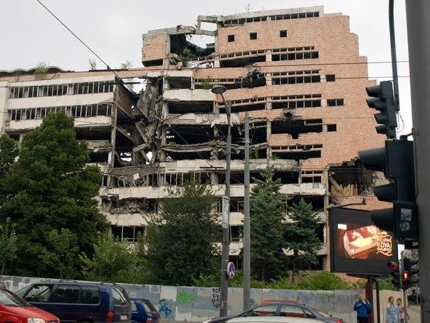 Как НАТО бомбило Югославию