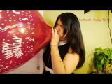 Yui Hisaishi - Tifa FF7 Cosplay - Blows up 16 balloon till pops!