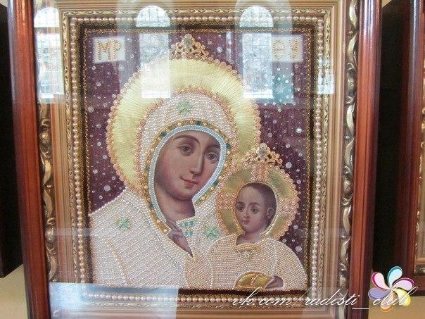 Эта икона Вифлеемской Божьей Матери. Это Единственная икона, где Богородица улыбается. Эта икона Она помогает всем!!!! Разместите у себя на странице, да поможет вам её волшебство!!!