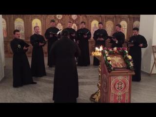 Архиерейский хор Александро-Невской лавры