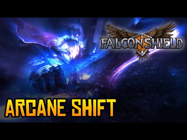 Falconshield - Arcane Shift feat. Mike Luciano (League of Legends song - Ezreal)