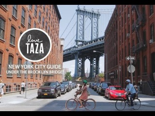 Taza's NYC Guide: Under the Brooklyn Bridge