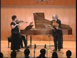 J. S. Bach - Sonata for Violin and Basso Continuo G-Major  BWV 1021