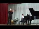 George Enescu - Concert piece for viola (Viacheslav Agabekov - viola)