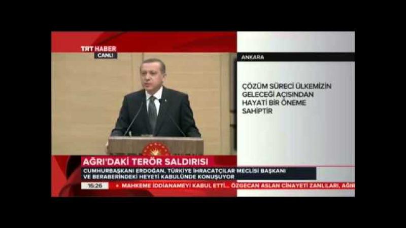 Cumhurbaşkanı Erdoğan'dan HDP ve Papa'ya Sert Eleştiri.
