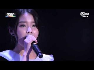 IU (아이유) feat. Song Minho (송민호) - Friday [2014 MAMA]