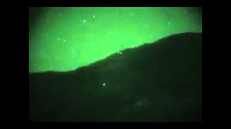 подсветка ИК-лазером цели на холме