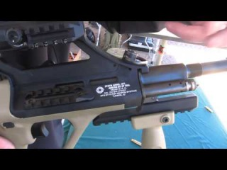 SHOT Show 2014 - NEW 2014 Steyr AUG F1 (SM) Rifle - Disassembly and Shooting