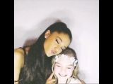 """Ariana Grande on Instagram: """"first photo booth meet n greet for the honeymoon tour was a success! i love you kansas city babes. (family / managers / friends snuck in…"""""""