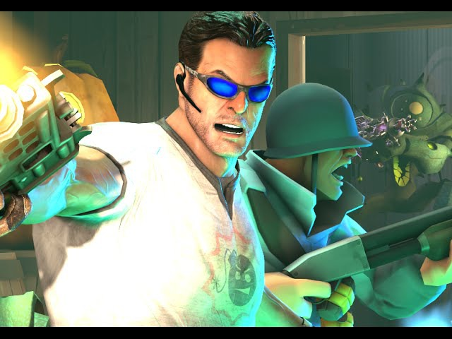 *SAXXY 2014* Mean Green Menace from Space (Featuring Serious Sam)