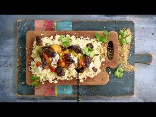 Lamb Tagine and Chicken Caesar Salad