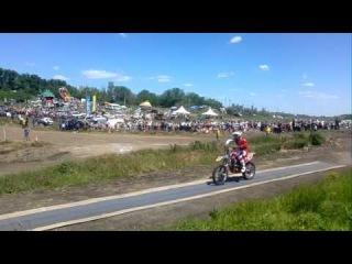 Бизон трек шоу 2015 Заезды мотоциклистов