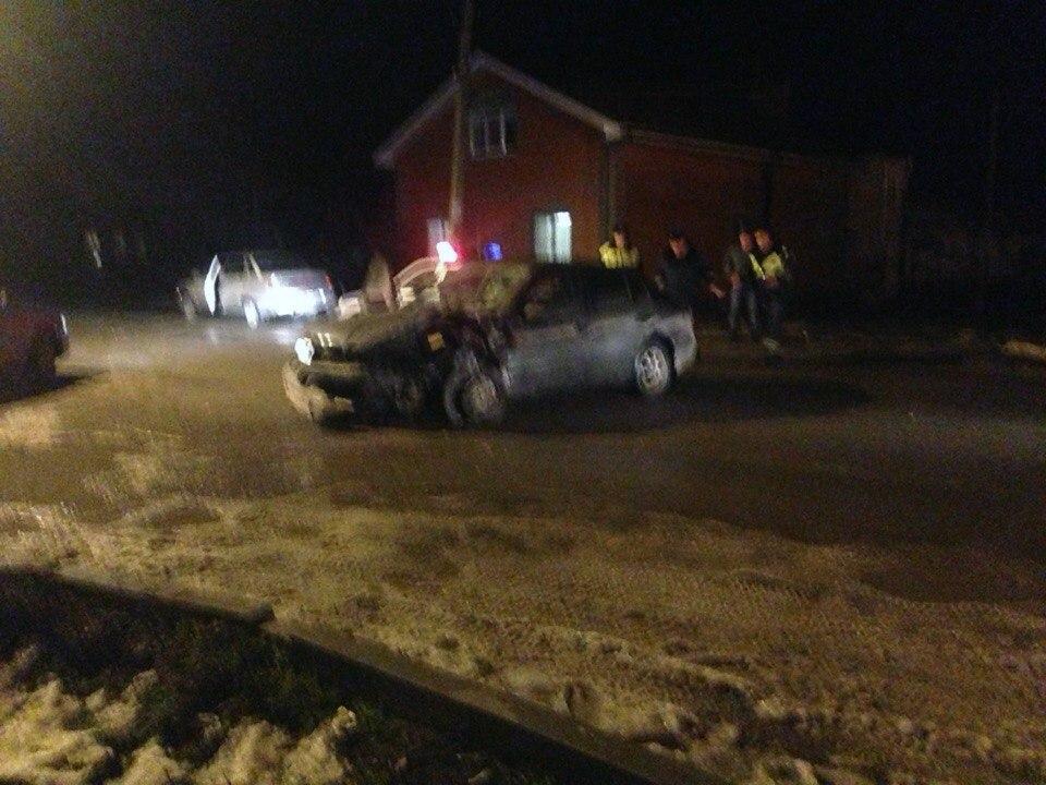 В Таганроге на улице Шевченко произошла серьезная авария