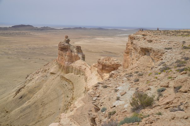 Вид с Западного Чинка. На заднем плане хребет Карамия