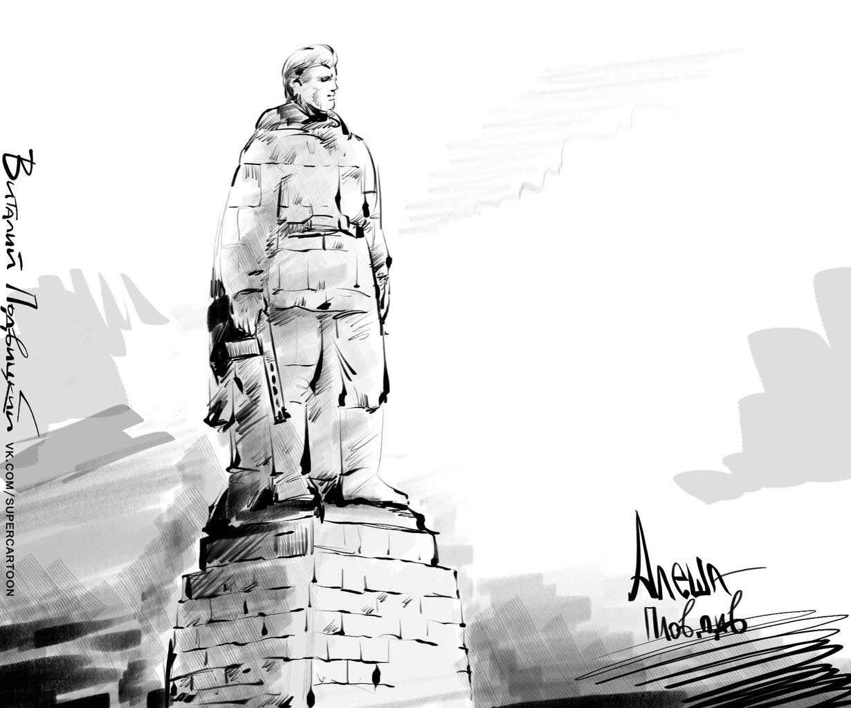 Алеша памятник рисунки