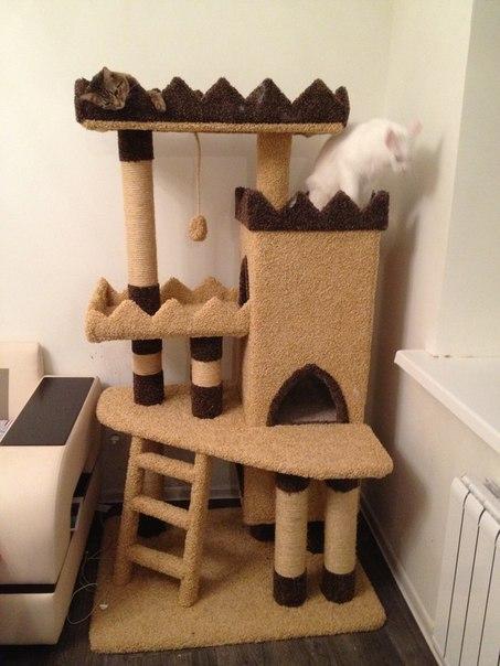 Домик чесалка для кошки