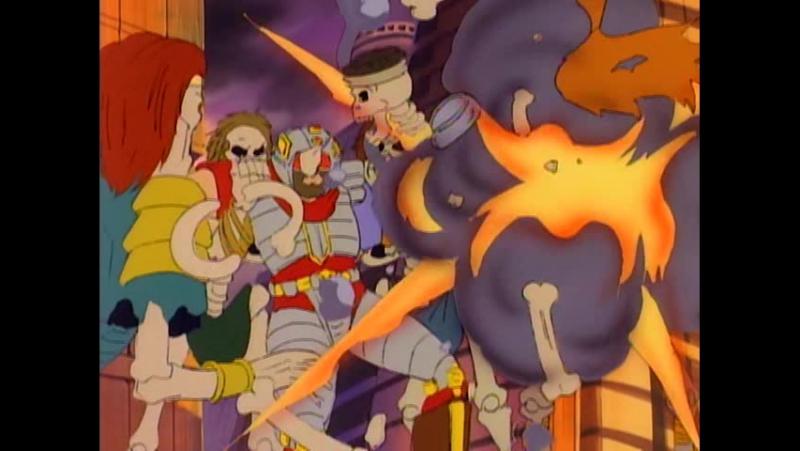 Воины-Скелеты 13 серия из 13 / Skeleton Warriors Episode 13 (1993 - 1994) Столкновение и последствия (ч.2)