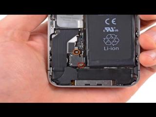 Замена дисплейного модуля в iPhone 4S