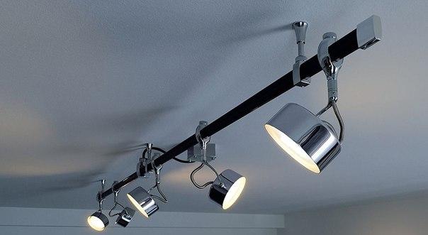 Поворотные потолочные светильники